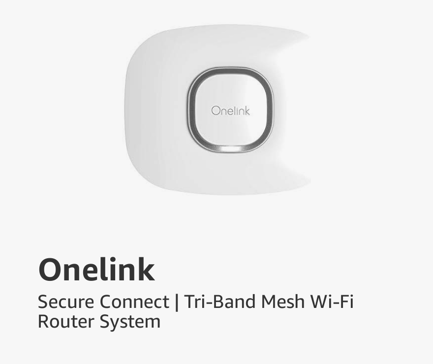 Onelink Secure Connect | Tri-Band Mesh Wi-Fi Router System