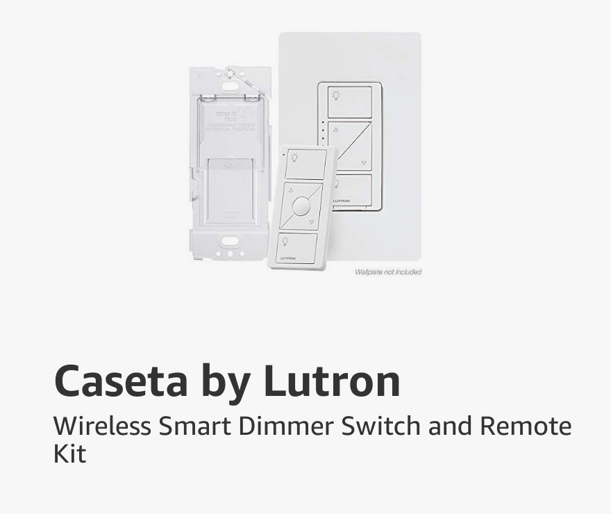 Caseta by Lutron Wireless Smart Dimmer Switch and Remote