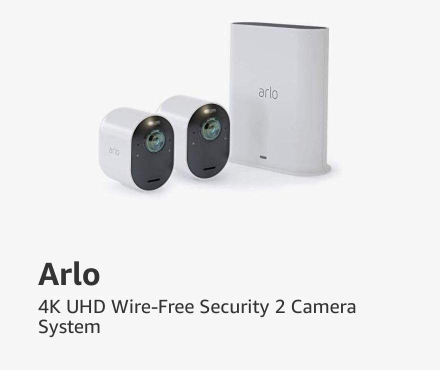 Arlo 4K UHD Wire-Free Security 2 Camera