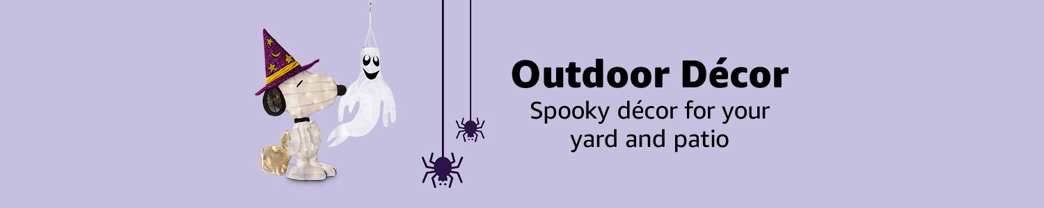 Outdoor Décor. Spooky décor for your yard & patio.