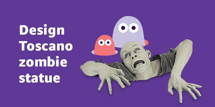 Design Toscano zombie statue