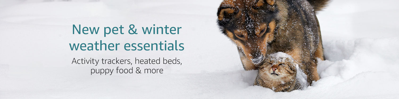 New Pet & Winter Weather Essentials