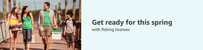 Fishing and Boating License Header
