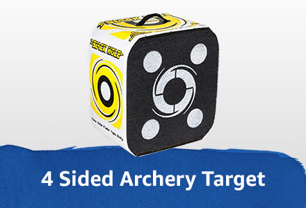 4 sided archery target