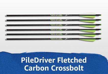 Carbon Crossbolt with vanes