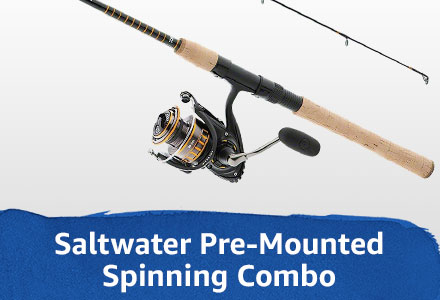 pre-mounted spinning combo