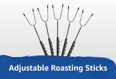 adjustable roasting sticks
