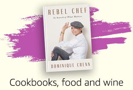 Cookbooks, food and wine