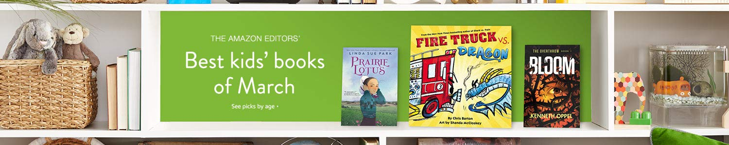 Best kids' books of March