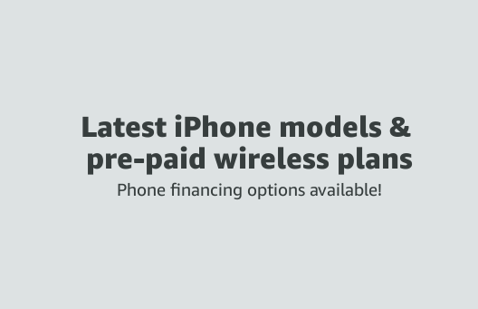 latest model iphones and pre-paid wireless plans