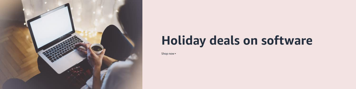 Holiday deals on software