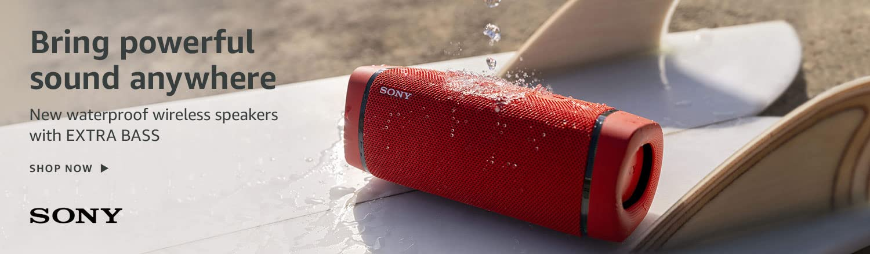 Bring powerful sound anywhere