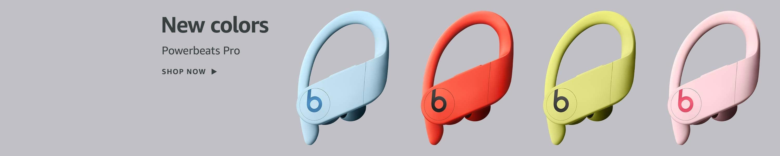 New colors Powerbeats Pro