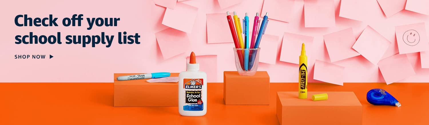 Check off your school supply list