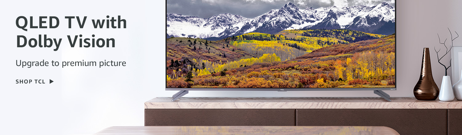 QLED TV with Dolby Vision
