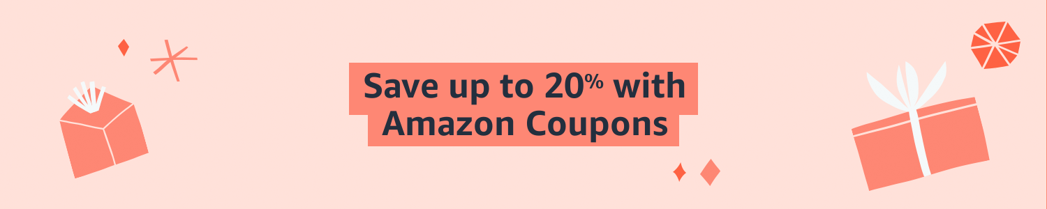 Save up to 20% with Amazon Coupons