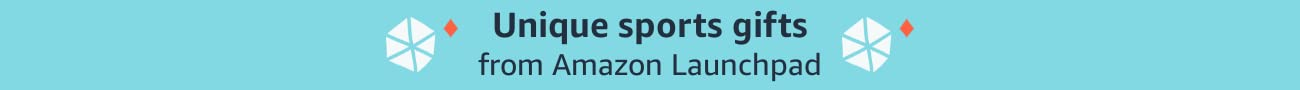 Unique sports gifts from Amazon Launchpad