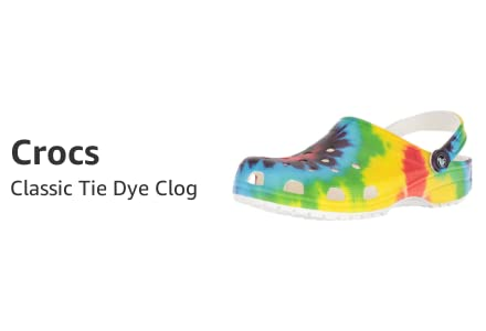 Crocs Classic Tie Dye Clog