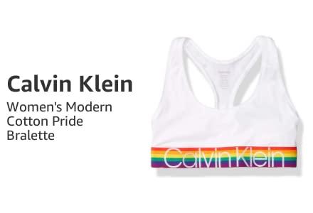 Calvin Klein Women's Modern Cotton Pride Bralette