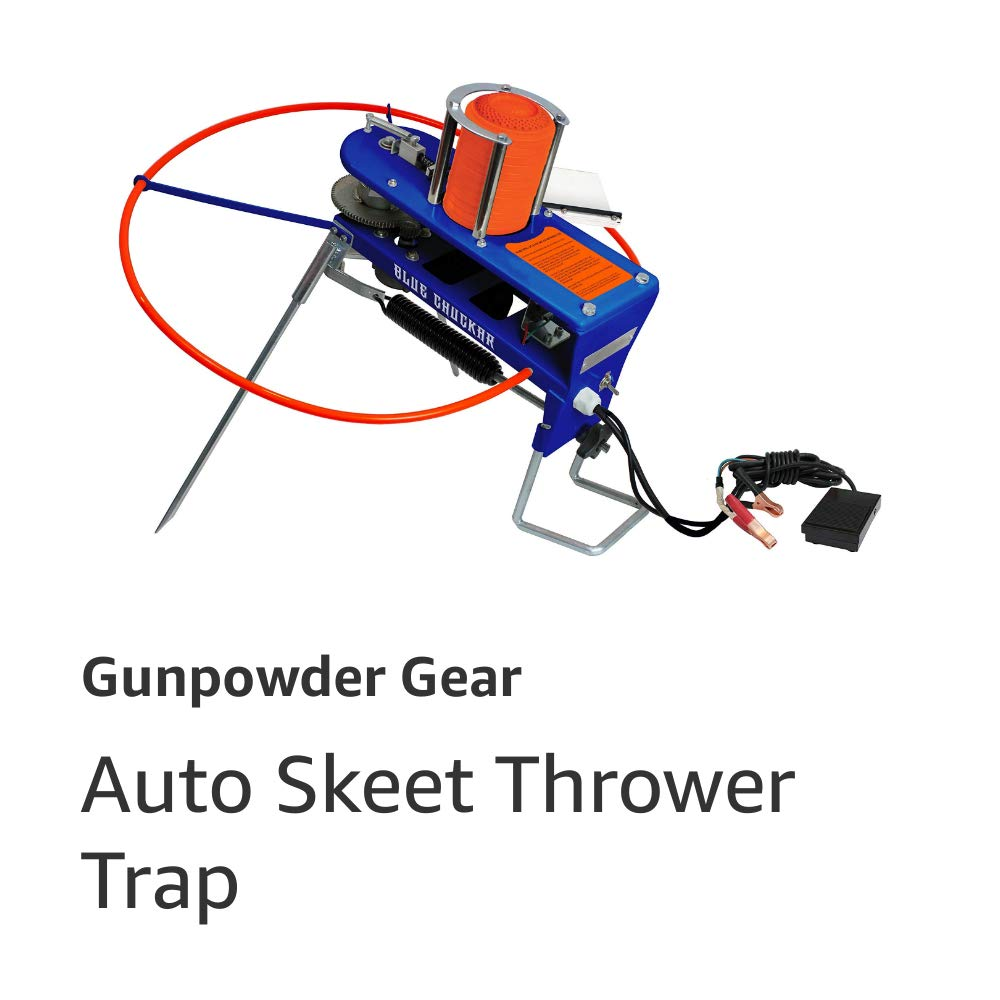 Blue Chukar Skeet Thrower Trap
