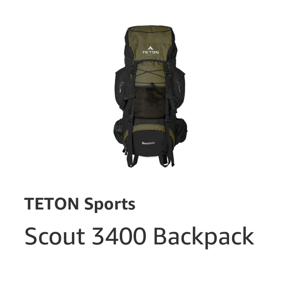 Scout 3400 Frame Backpack