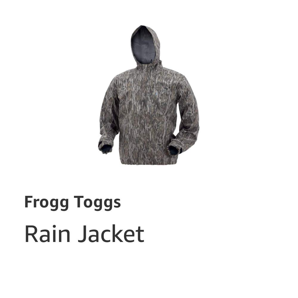 Java Toadz Camo Rain Jacket