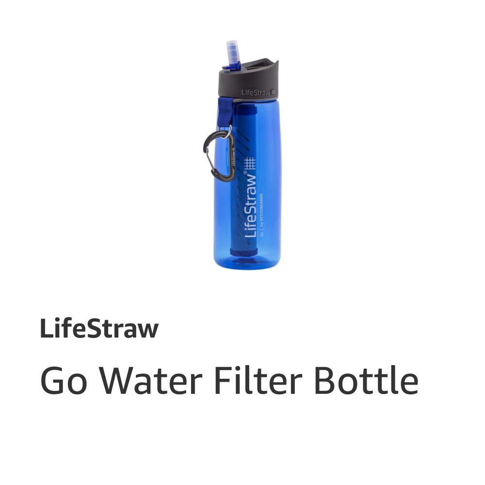 Go Water Filter Bottle