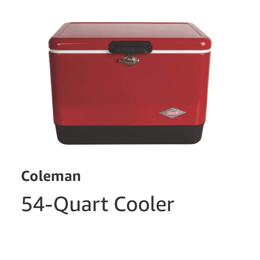Steel-Belted 54-Quart Cooler