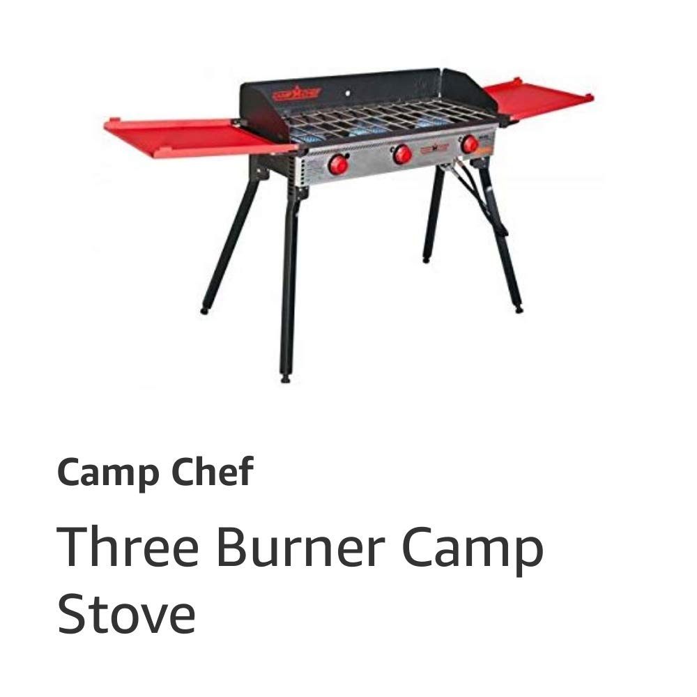 PRO90X Three Burner Camp Stove