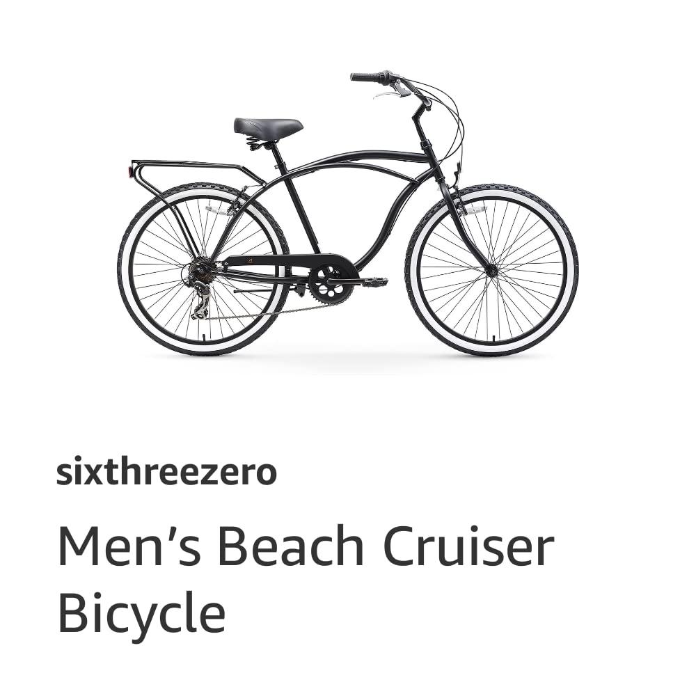 sixthreezero Men's Beach Cruiser Bicycle