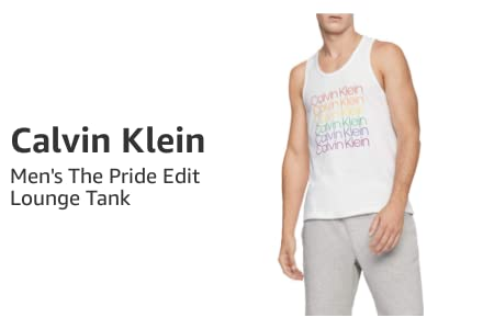 Men's The Pride Edit Lounge Tank