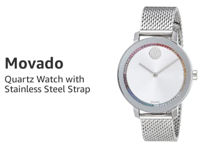 Quartz Watch with Stainless Steel Strap