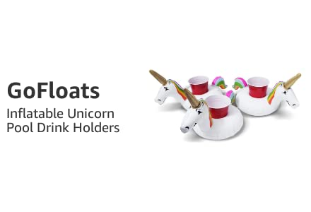 Inflatable Unicorn Pool Drink Holders