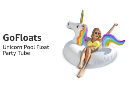 Unicorn Pool Float Party Tube