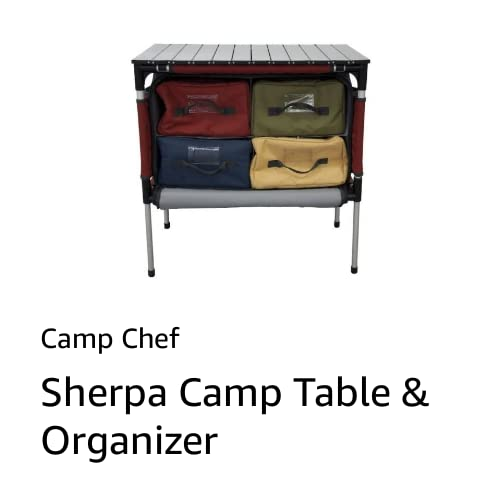 Camp Table Organizer
