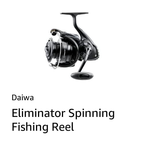 Eliminator Spinning Fishing Reel