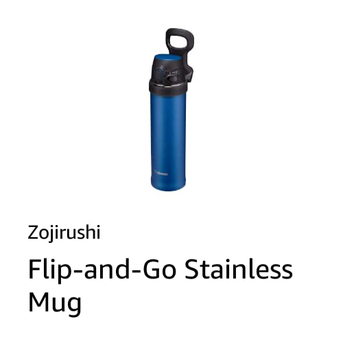 Flip-and-Go Stainless Mug