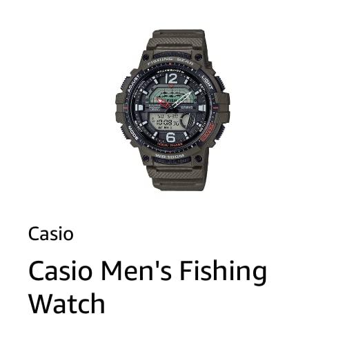 Casio Men's Fishing Watch