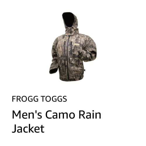 Men's Camo Rain Jacket