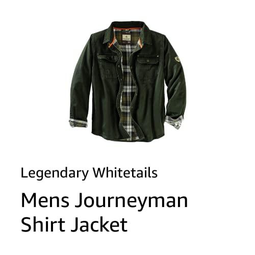 Mens Journeyman Shirt Jacket