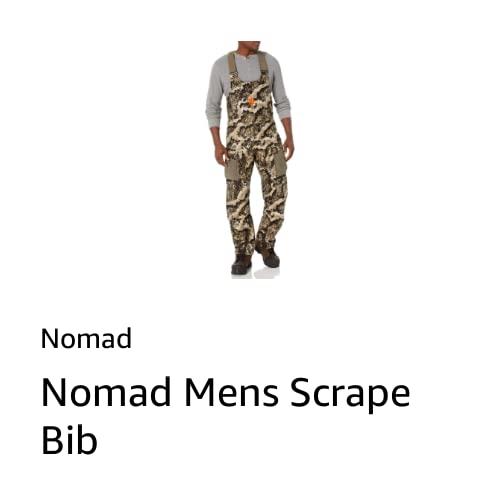 Nomad Mens Scrape Bib