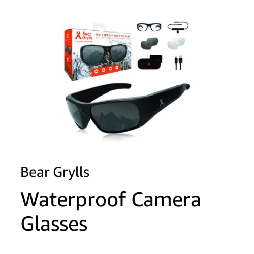 Bear Grylls Camera Glasses