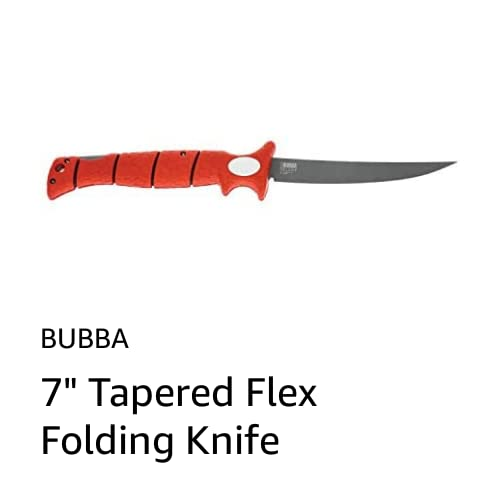 "7"" Tapered Flex Folding Knife"
