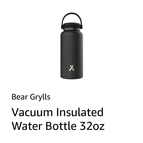 Bear Grylls Water Bottle