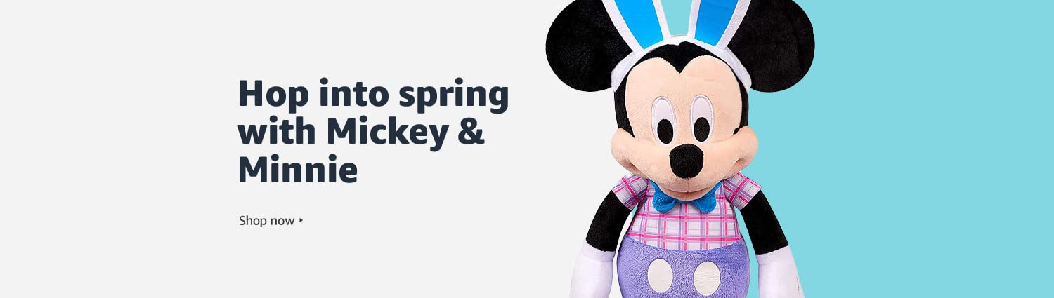 Hop into spring with Mickey & Minnie