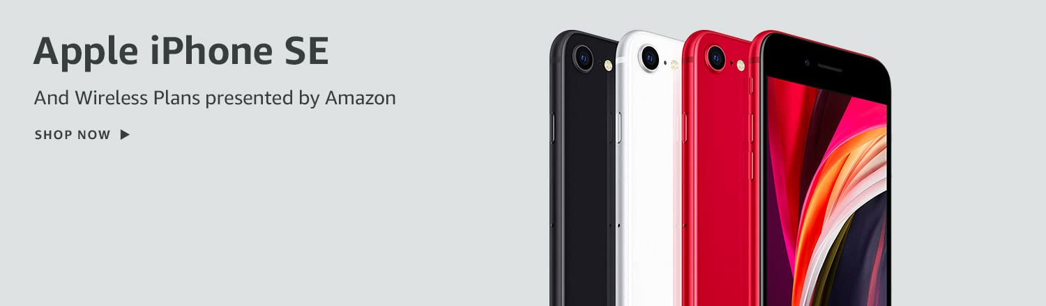 Apple iPhone SE and Wireless Plans presented by Amazon