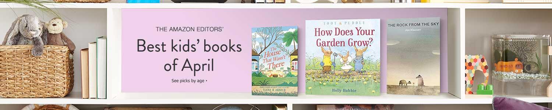 Best kids' books of April