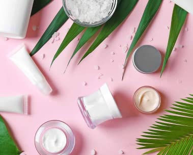 Various skin care products