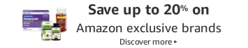 Save up to 20% on New Launches from Amazon Exclusive Brands