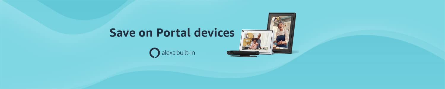 Save on Portal devices with Alexa built-in